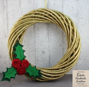 Christmas Wreath by Eclectic Handmade Creations