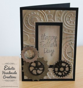 Fathers Day Card by Eclectic Handmade Creations